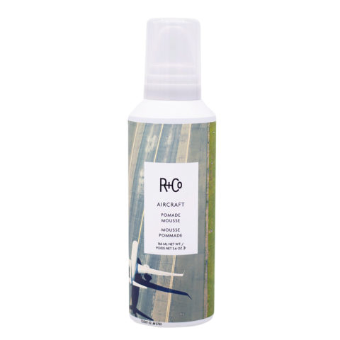 R+Co Aircraft Pomade Foam for Curly Hair 165ml