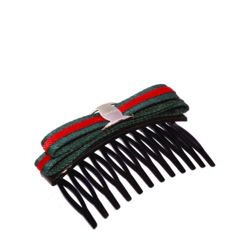VIAHERMADA Comb hair clip with fabric bow