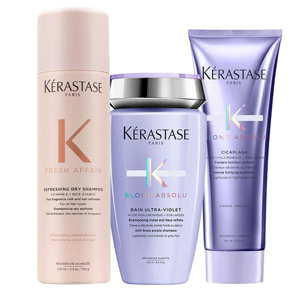 Kerastase Fresh Affair + Blond Absolu Set for Blonde and Bleached Hair