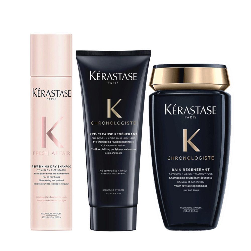 Kerastase Fresh Affair + Chronologiste Hair Regeneration Set