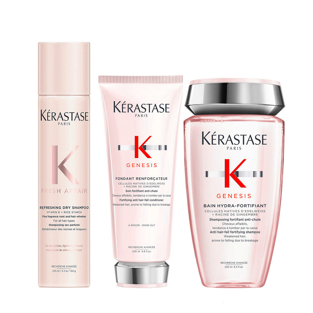 Kerastase Fresh Affair + Genesis Temporary and Fortifying Antihairloss Set