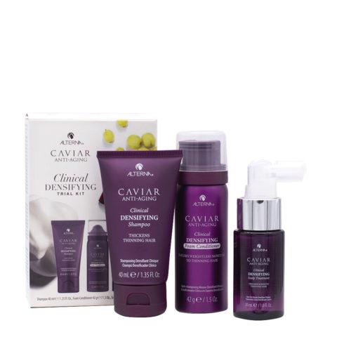 Alterna Caviar Clinical Densifying Trial Kit Box - for fine hair