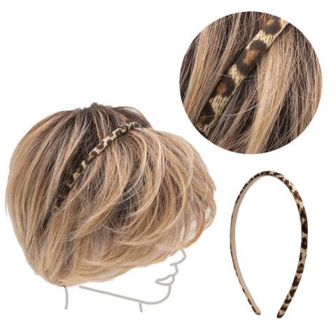VIAHERMADA Brown Spotted Hairband