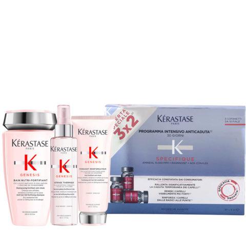 Kerastase Genesis Gentle Hydration And Protection Ritual + Kerastase Specifique Cure anti chute intensive 30x6ml
