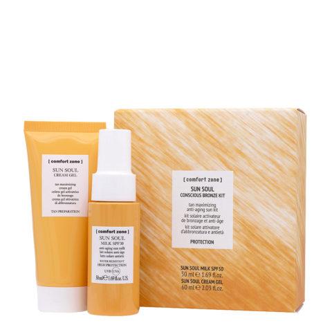 Sun Soul Conscious Bronze Kit - Tanning and anti-aging activator solar kit