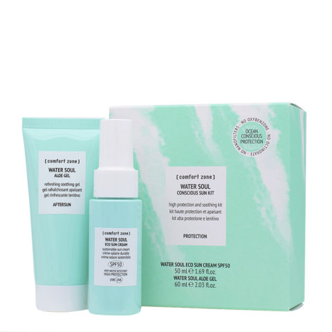 Water Soul Conscious Sun Kit - High protection and soothing kit