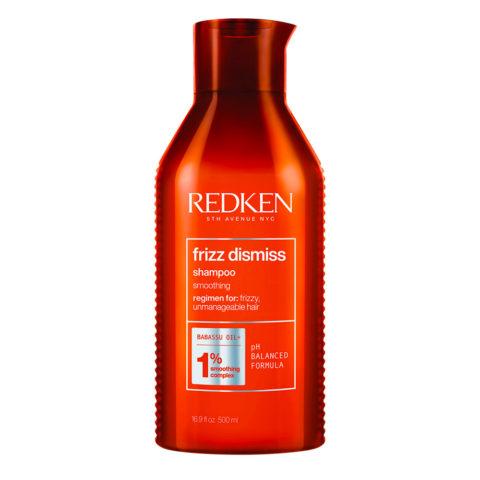 Redken Frizz Dismiss Shampoo Special Size 500ml - shampoo for frizzy hair