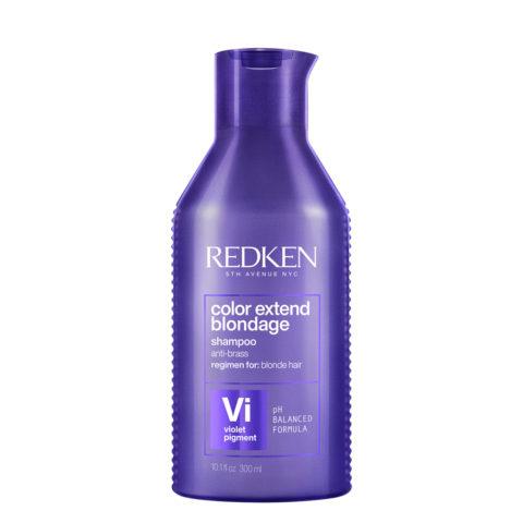 Redken Color Extend Blondage Shampoo 300ml - anti-yellow shampoo