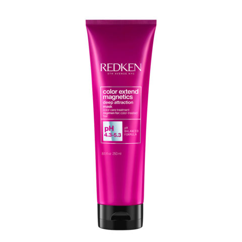 Redken Color Extend Magnetics Deep Attraction Mask  250ml - Coloured Hair Mask