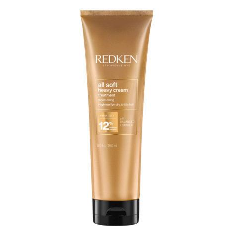 Redken All Soft Maschera Heavy Cream mask for brittle hair 250ml