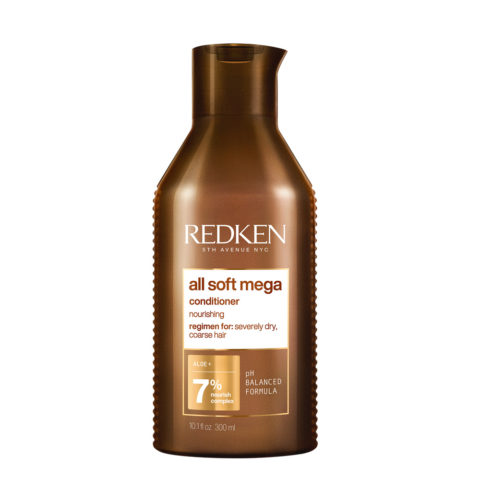 Redken All Soft Mega Conditioner 300ml - Conditioner for dry hair