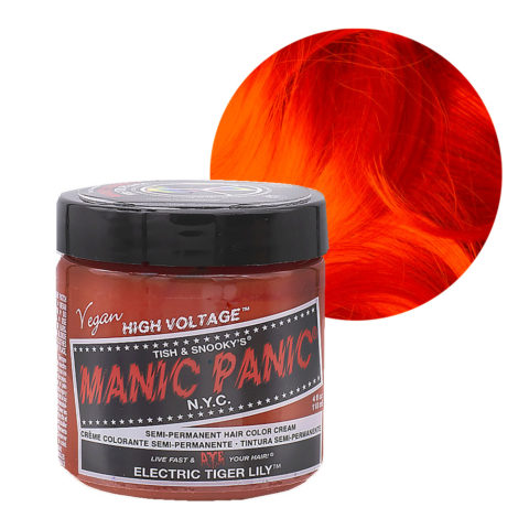 Manic Panic Classic High Voltage Electric Tiger Lily 118ml - Semi-Permanent Coloring Cream