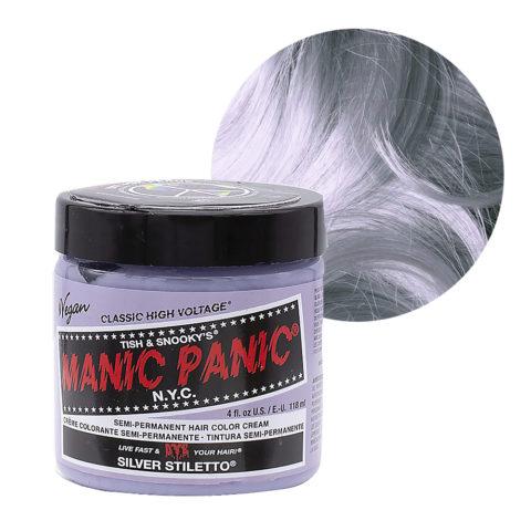 Manic Panic Classic High Voltage Silver Stiletto  118ml - Semi-Permanent Coloring Cream