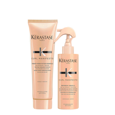 Kerastase Curl Manifesto Kit Curly Hair Spray 190ml Conditioner 250ml