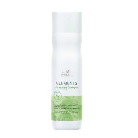 Wella Professionals New Elements Shampoo Renew 250ml - regenerating shampoo