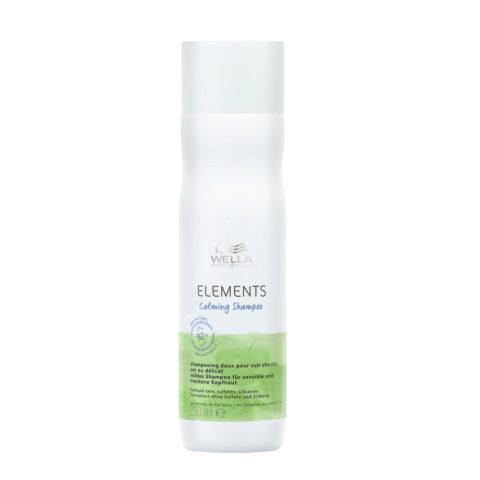Wella Professional New Elements Shampoo CALM 250ml - Sensitive scalp shampoo