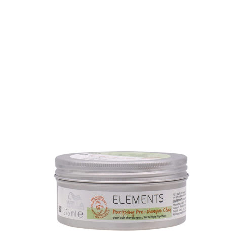Wella Professional New Elements Clay Purify  225ml- Pre-Shampoo for oily scalp
