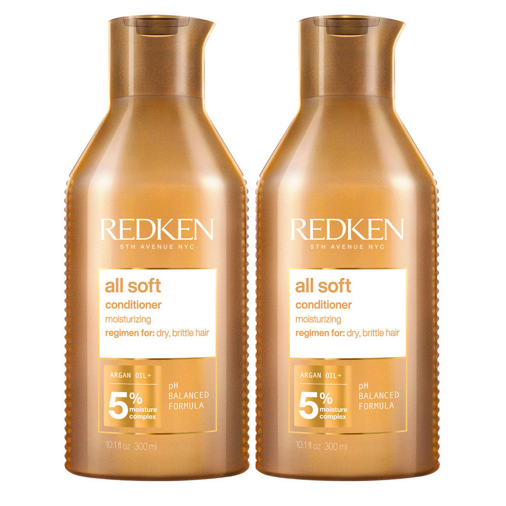Redken All Soft Kit of 2 Conditioner Special Size 500ml+500ml
