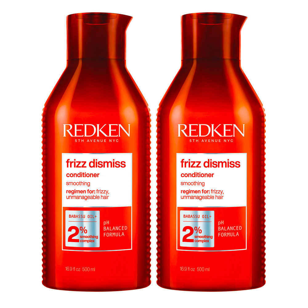 Redken Frizz Dismiss Kit of 2 Conditioner Special Format 500ml+500ml