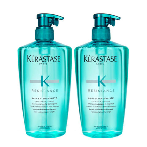 Kerastase Resistance  Extentioniste Kit 2 Shampoo 500ml+ 500ml - Lenght strenghtening