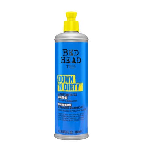 Tigi Bed Head Down'N Dirty Shampoo 400ml - purifying shampoo