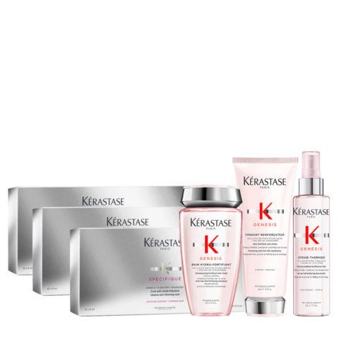 Kerastase Genesis Gentle Hydration & Specifique Cure anti chute intensive 30x6ml