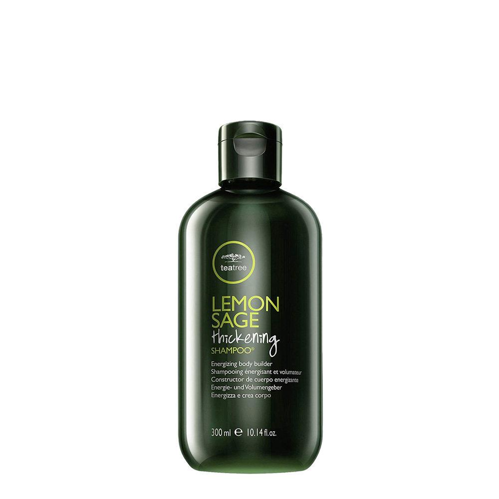 Paul Mitchell Tea tree Lemon sage Thickening shampoo 300ml - sebum-normalizing shampoo