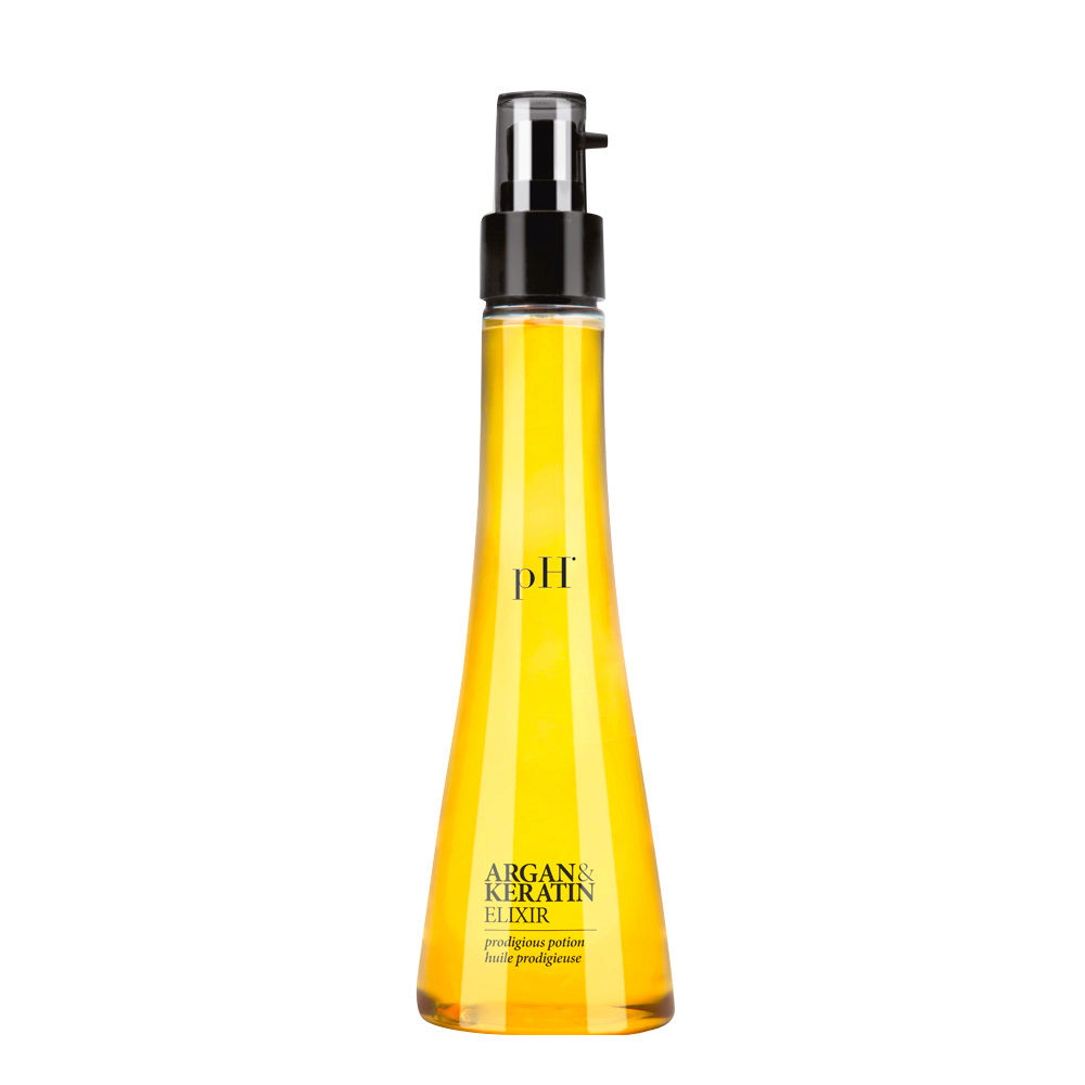 PH Laboratories Argan and Keratin Elixir 100ml - Restructuring Serum
